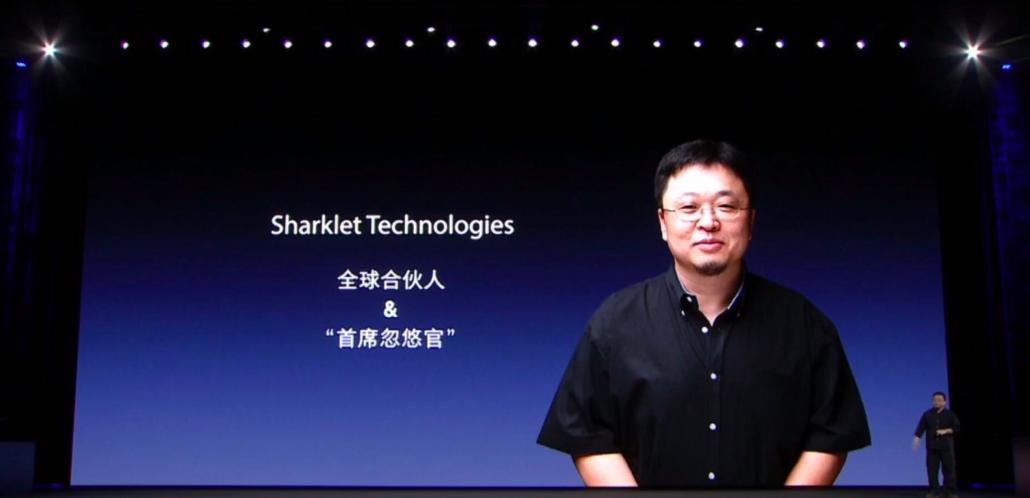 罗永浩出任Sharklet公司全球合伙人