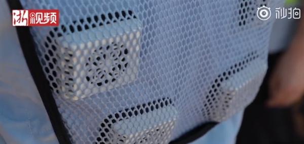 浙江男子发明可穿戴式空调衣:几秒内降至16度
